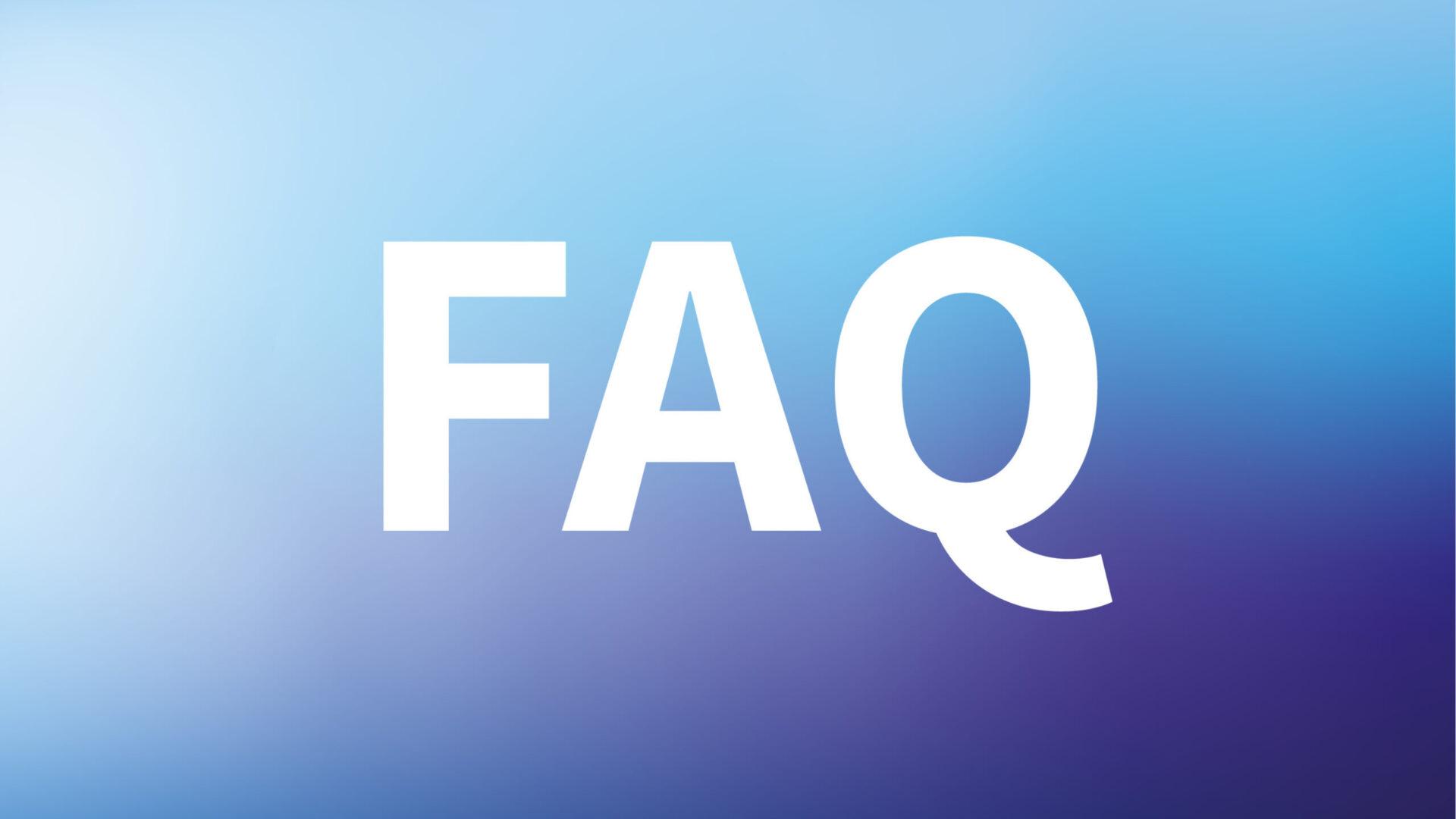 Titelbild zu 'Die häufigsten Fragen & Antworten'