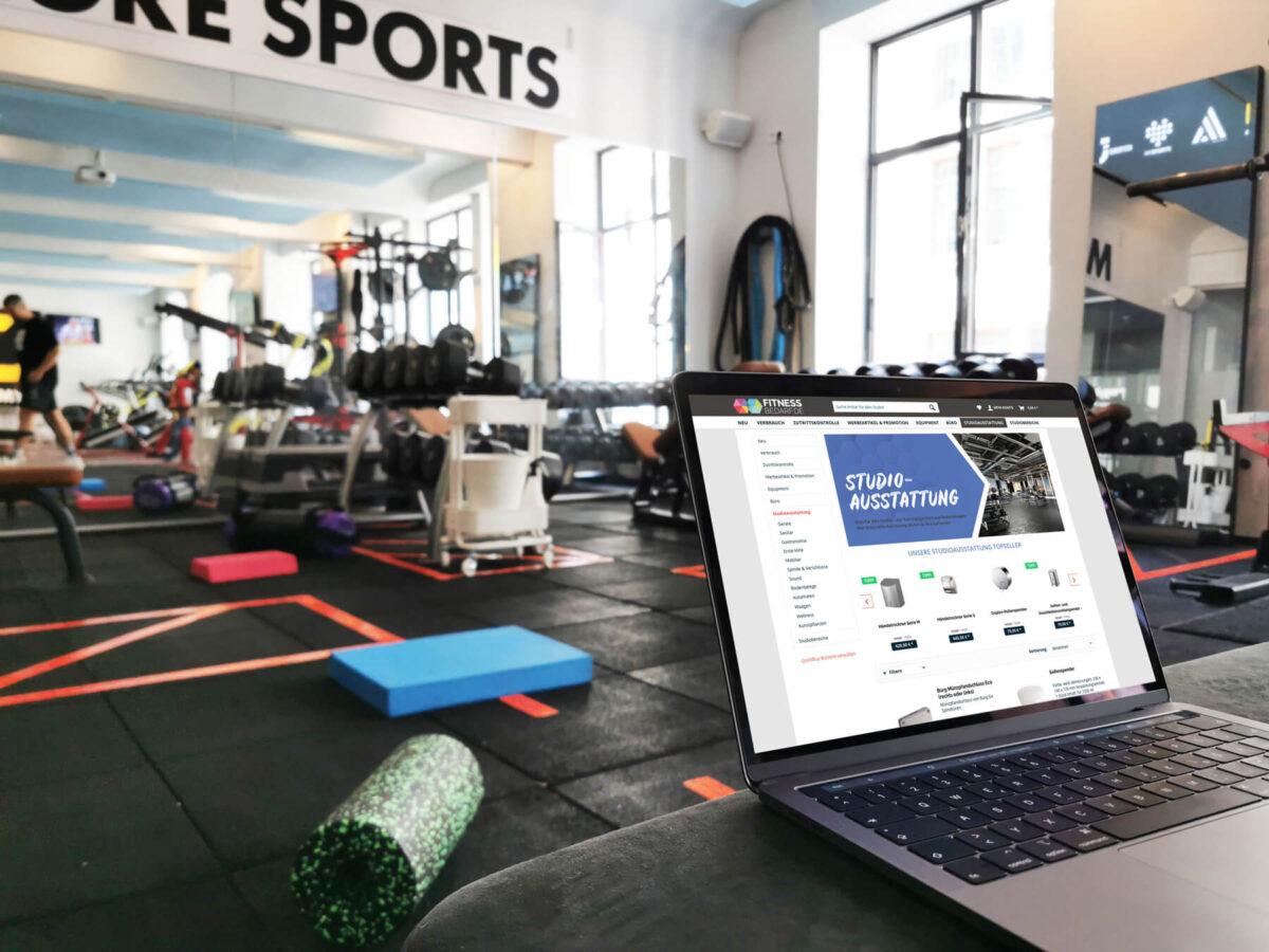 Bild: Fitnesssoftware Magicline im Studio