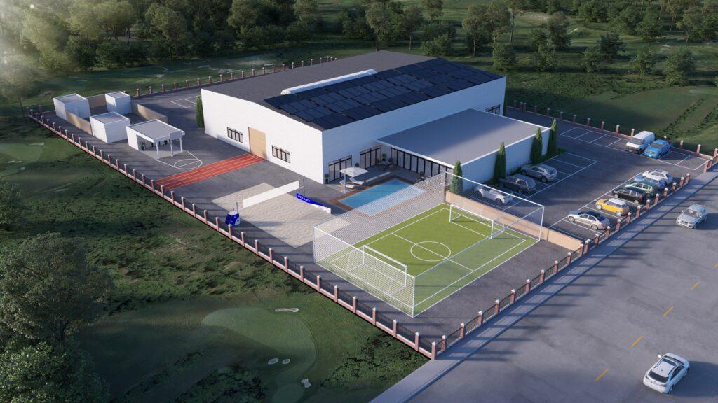El gimnasio TIEGEL en el futuro