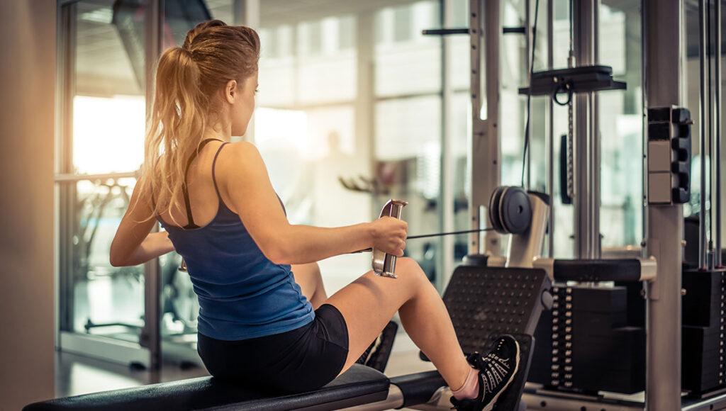 Bild: Fitnessgeräte