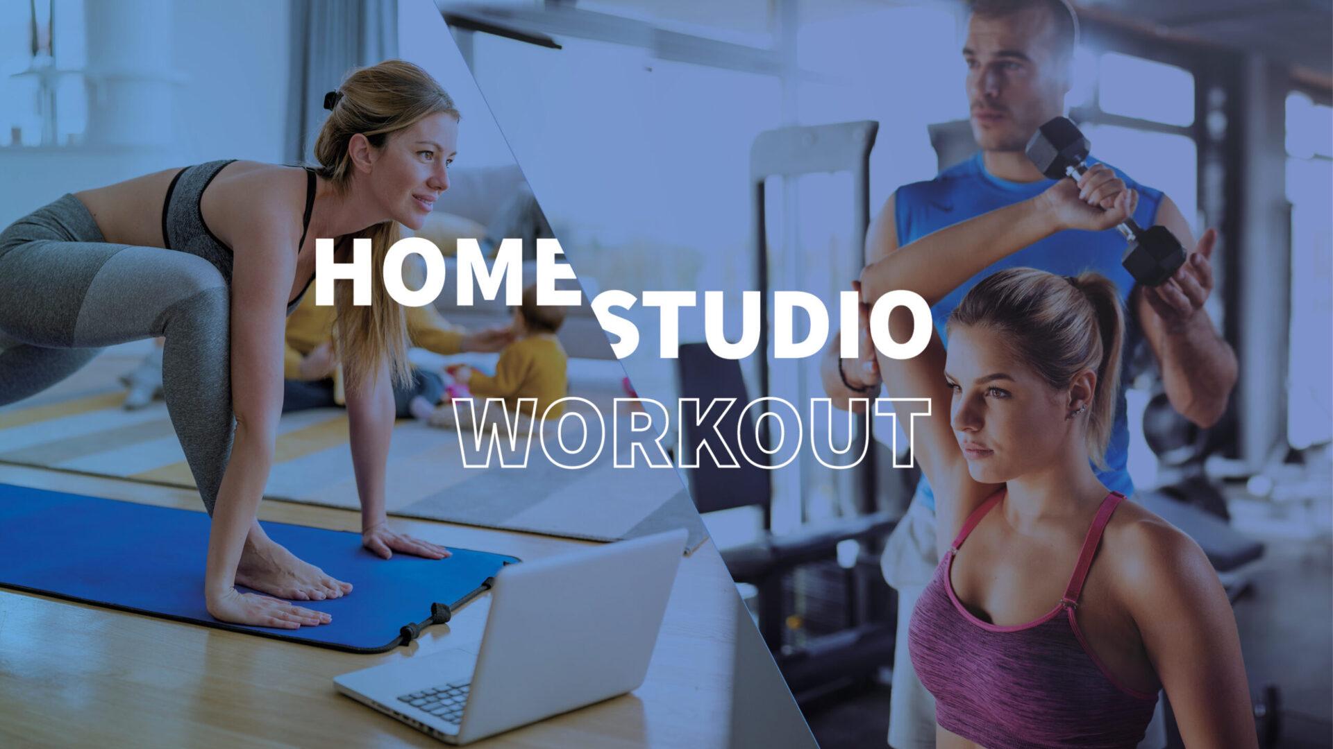 Training im Studio vs. Training zu Hause