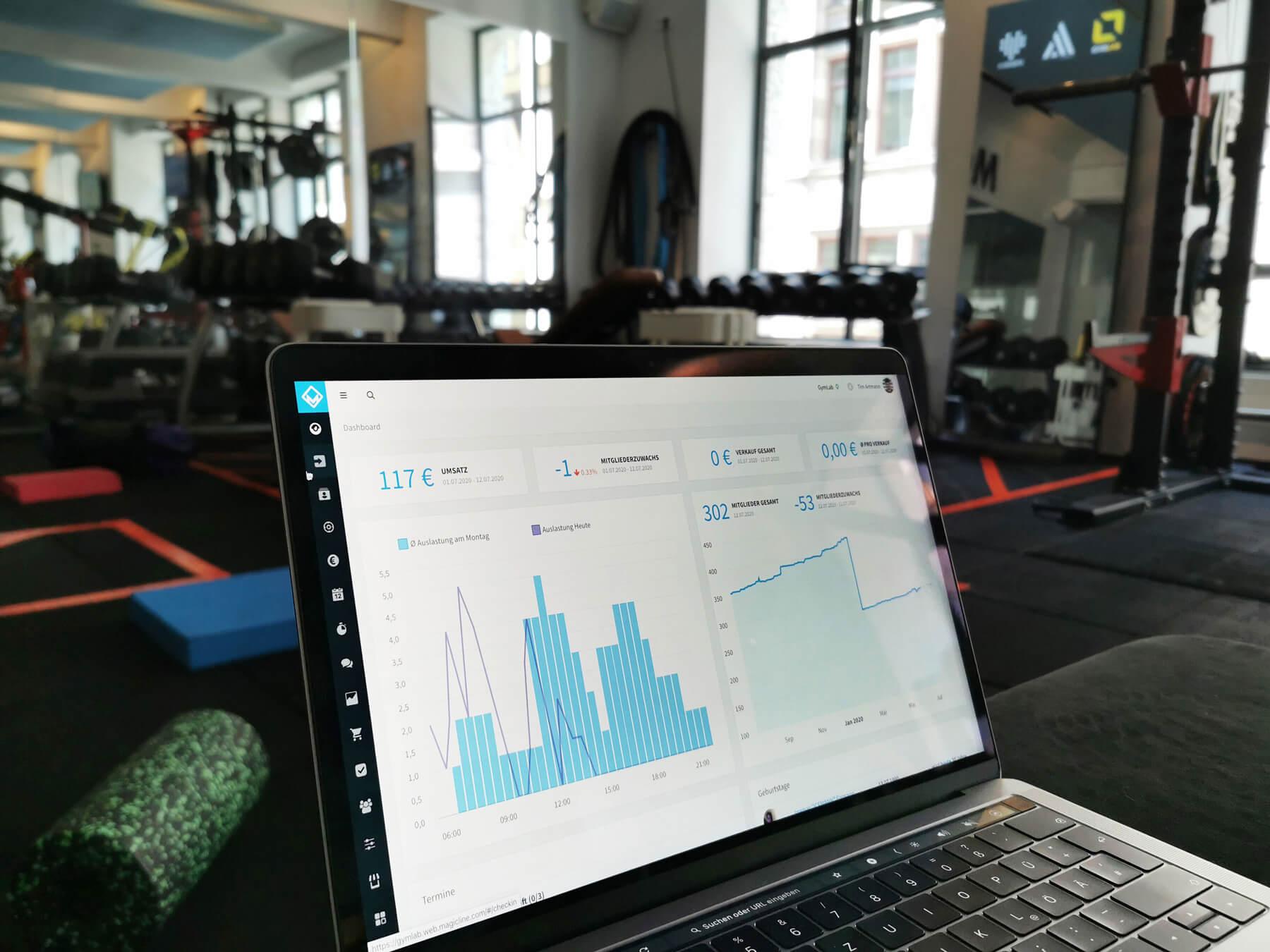 Gym software