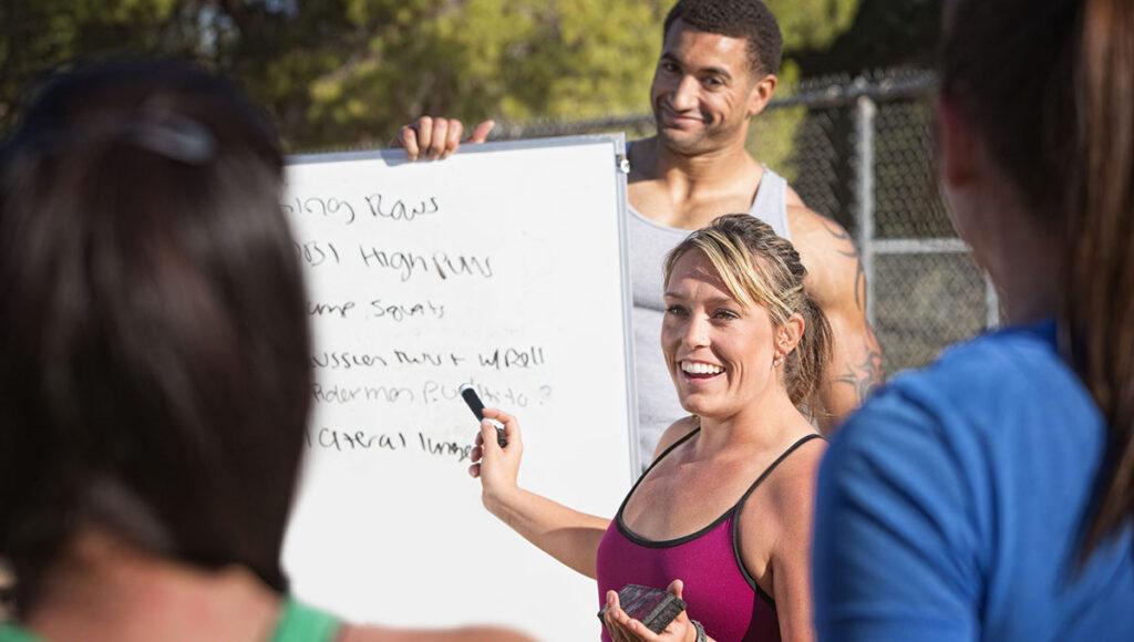 Bild: Trainer finden Leidenschaft