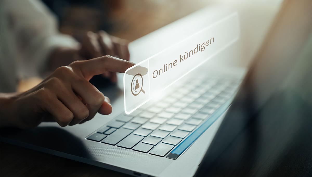 Bild: Kündigungsbutton für Online-Verträge